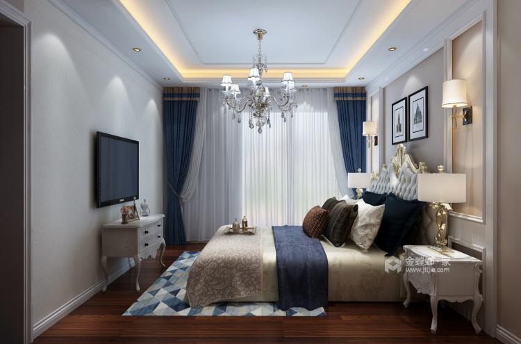 200平大气轻奢美式风格,精致简洁-卧室效果图及设计说明