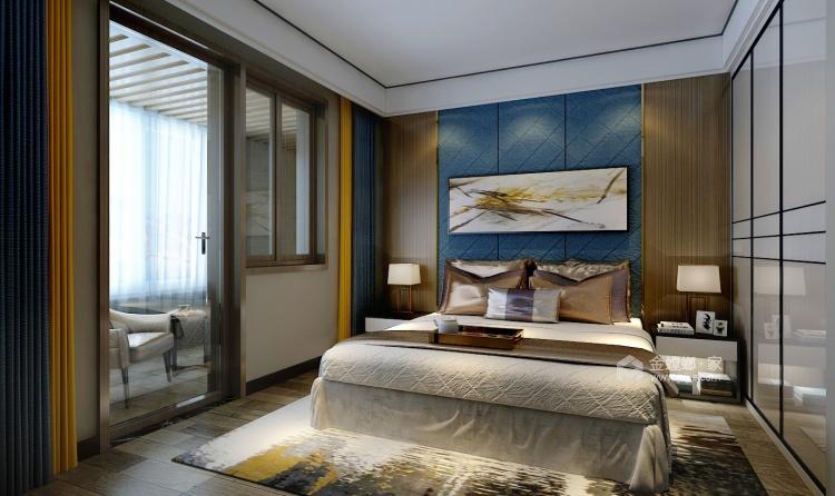 后现代混搭风 轻奢优雅的生活格调-卧室效果图及设计说明