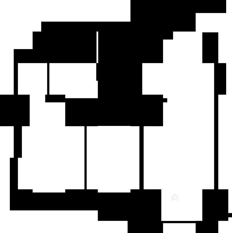 四季金辉120平简约现代风-业主需求&原始结构图