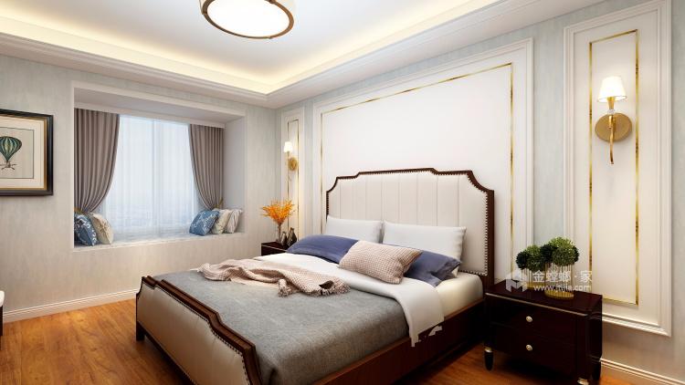 浅白配色,不愁装不出高级感-卧室效果图及设计说明