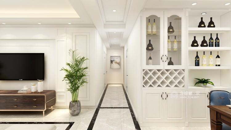 浅白配色,不愁装不出高级感-客厅效果图及设计说明