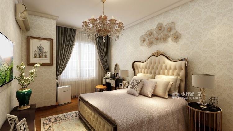 向往的美式风生活-卧室效果图及设计说明