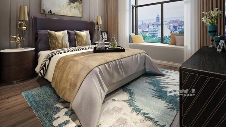 简约现代风,轻奢与精致之作-卧室效果图及设计说明