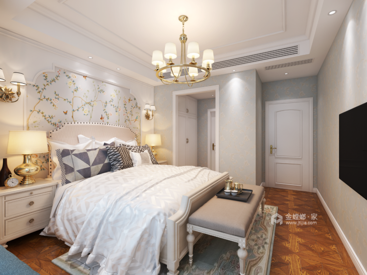 卡座:补充厨房的储物空间-卧室效果图及设计说明