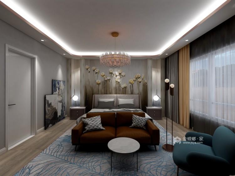 """""""而·遇""""——高级灰营造品质轻奢现代风-卧室效果图及设计说明"""