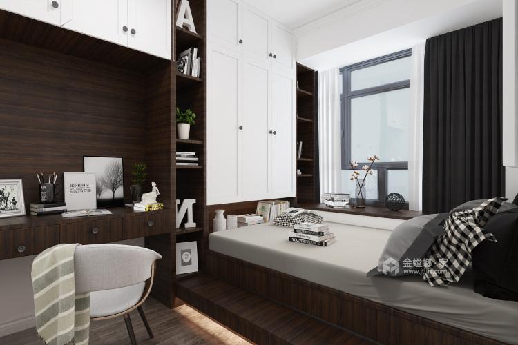 140平白色简洁现代风,艺术气质尽显-卧室