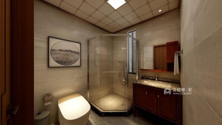 260平新中式风格,极致东方美学-卫生间