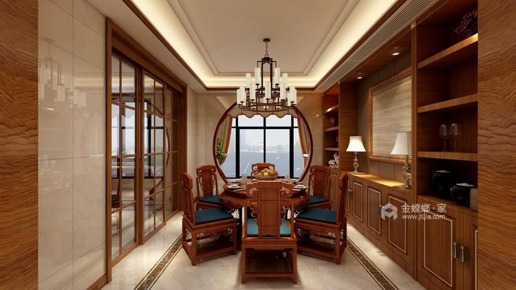 260平新中式风格,极致东方美学-餐厅效果图及设计说明