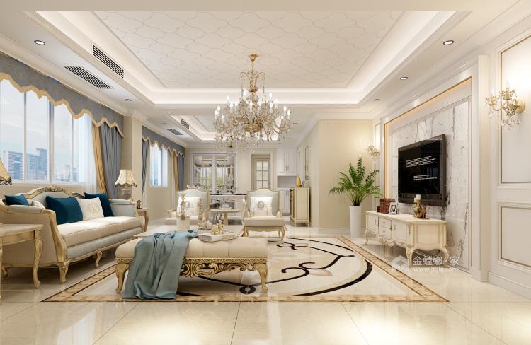 优雅的欧式贵族风格-空间效果图