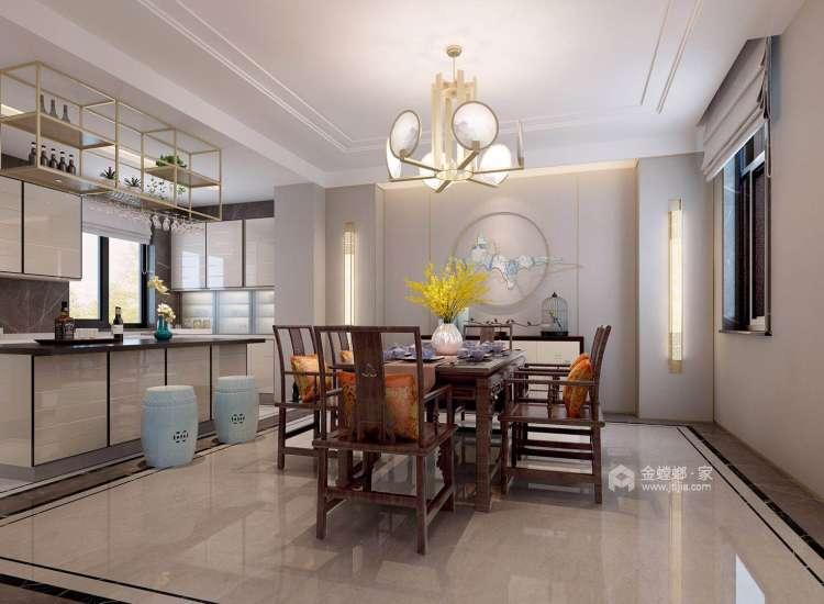 如此雅致的新中式,不由宁身静心-厨房