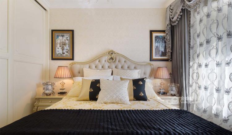 想要古典与高贵并存的家,欧式是最正确的选择-卧室效果图及设计说明