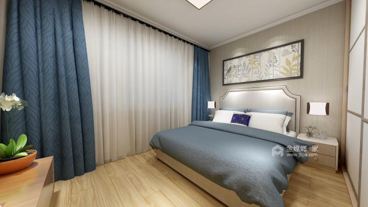干净舒适的三口之家-卧室效果图及设计说明