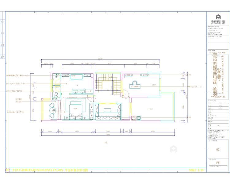 远离浓烈世俗气息,别墅就要这样装-平面设计图及设计说明