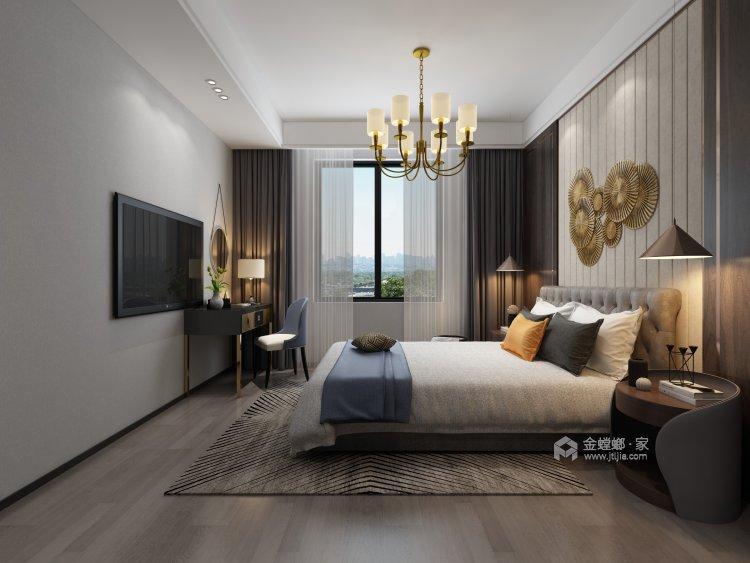 100多㎡ 的家,要如何才能装出自己喜欢的风格-卧室效果图及设计说明