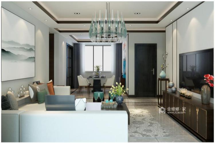 新中式三居室,颠覆了对中式的一贯认知-空间效果图