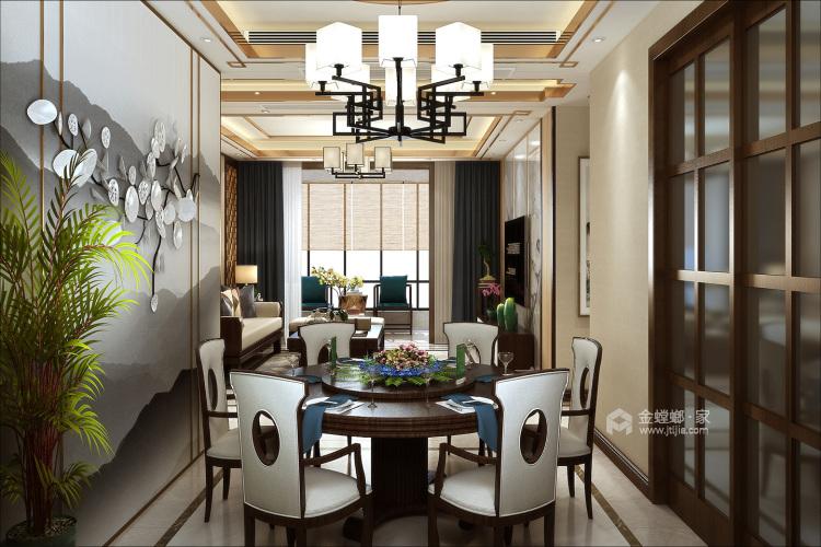 简单的木色调,一切都刚刚好的温馨暖宅-空间效果图