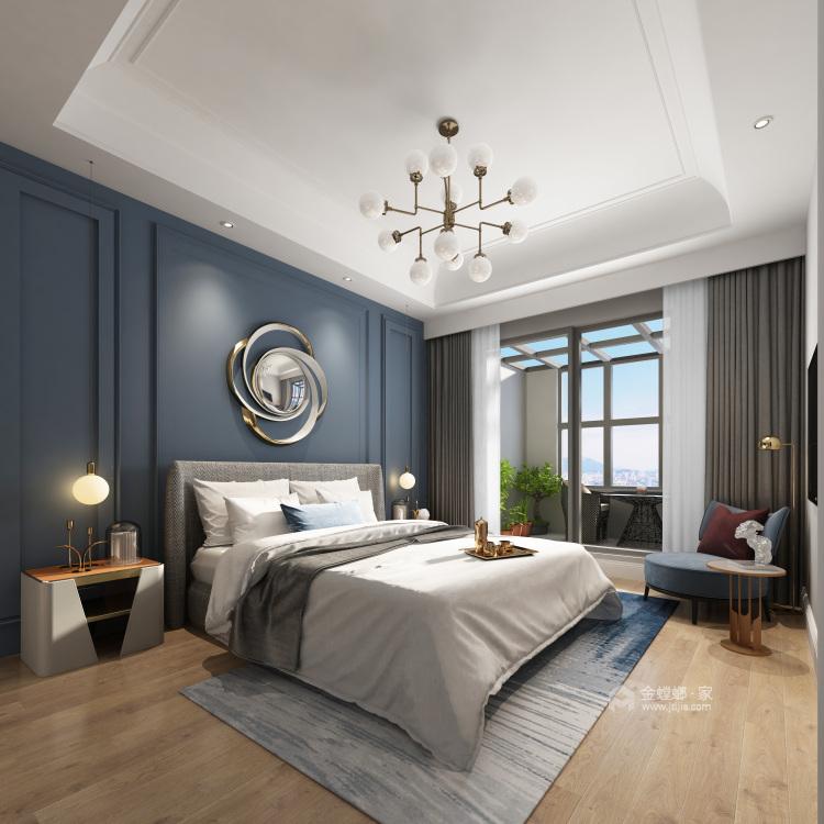 182㎡优雅美式,温馨舒适而不失高级感-卧室效果图及设计说明