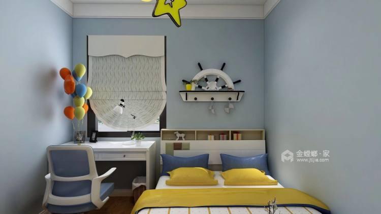 奶咖色的现代风,让空间更具时尚感-儿童房