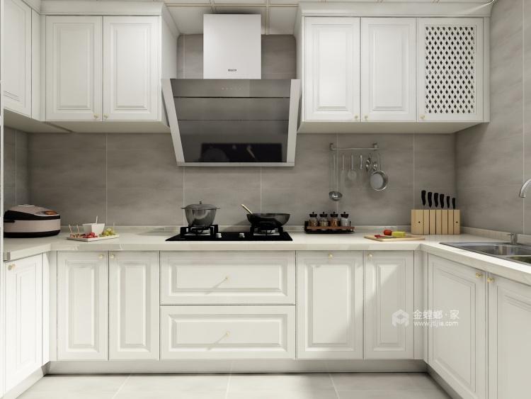 182㎡优雅美式,温馨舒适而不失高级感-厨房