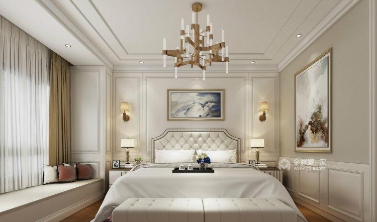 淡淡的咖色给整个空间增添不一样的质感-卧室效果图及设计说明