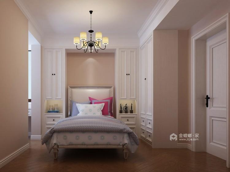 旧房翻新,打造暖意浓浓的美式风-卧室