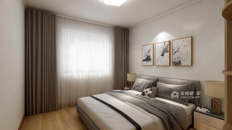 140㎡空间大气文雅,富有朝气-卧室效果图及设计说明