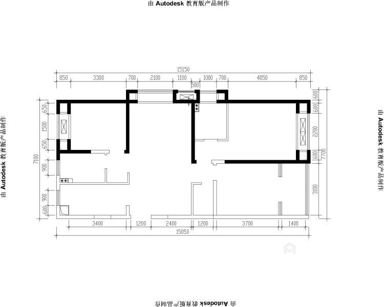 130㎡现代风格,小房间也能做榻榻米-业主需求&原始结构图