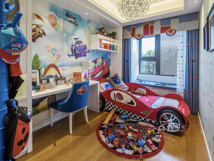 橙色优雅基调,热烈又活力-儿童房