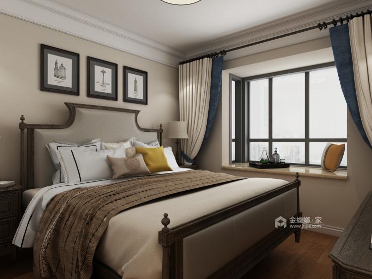 主卧配浴缸,这才是生活应有的品质-卧室效果图及设计说明