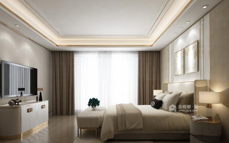年轻人的现代风格,对宁静追求-卧室效果图及设计说明