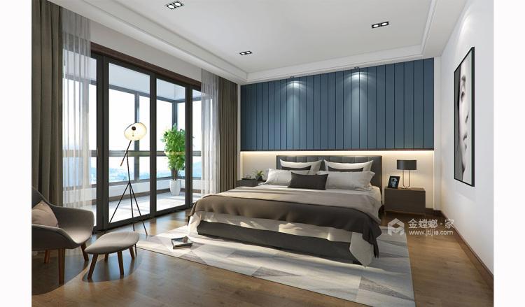 四世同堂5居室,以传统文化为底蕴-卧室效果图及设计说明