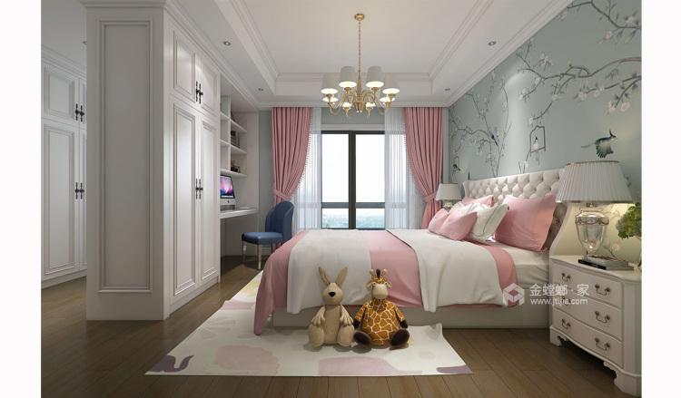 四世同堂5居室,以传统文化为底蕴-卧室