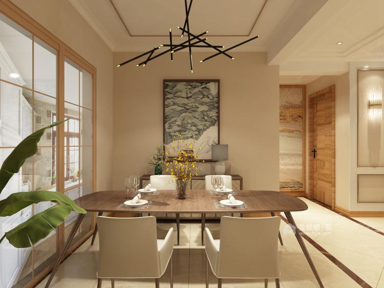 现代港式勾勒超强质感-餐厅效果图及设计说明