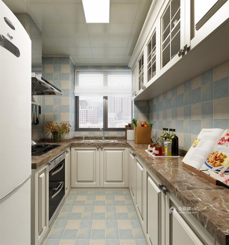 象牙白的欧式,让家充满高级感-厨房