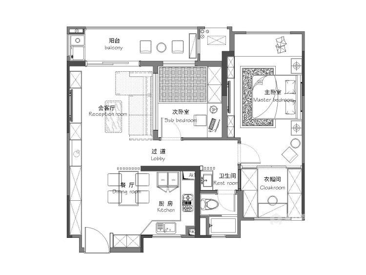 设计营造环境,空间创造艺术-平面设计图及设计说明