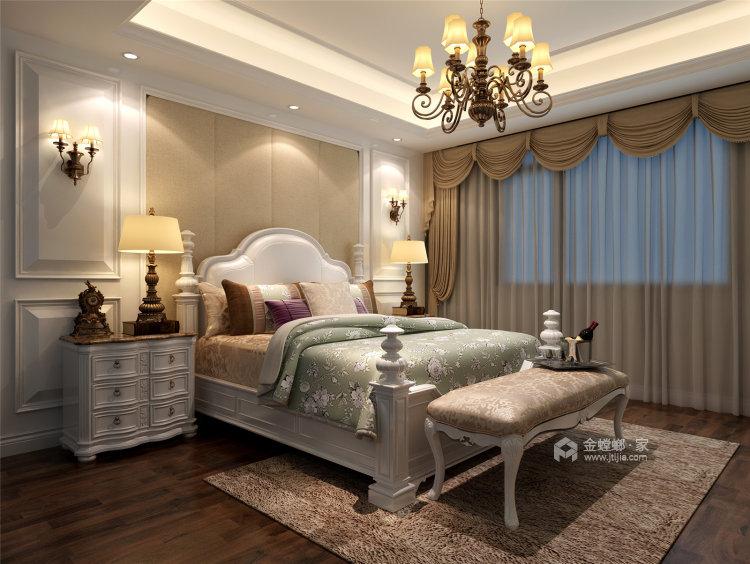 象牙白的欧式,让家充满高级感-卧室