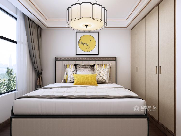 现代简约风,惊喜总是如期而至-卧室效果图及设计说明