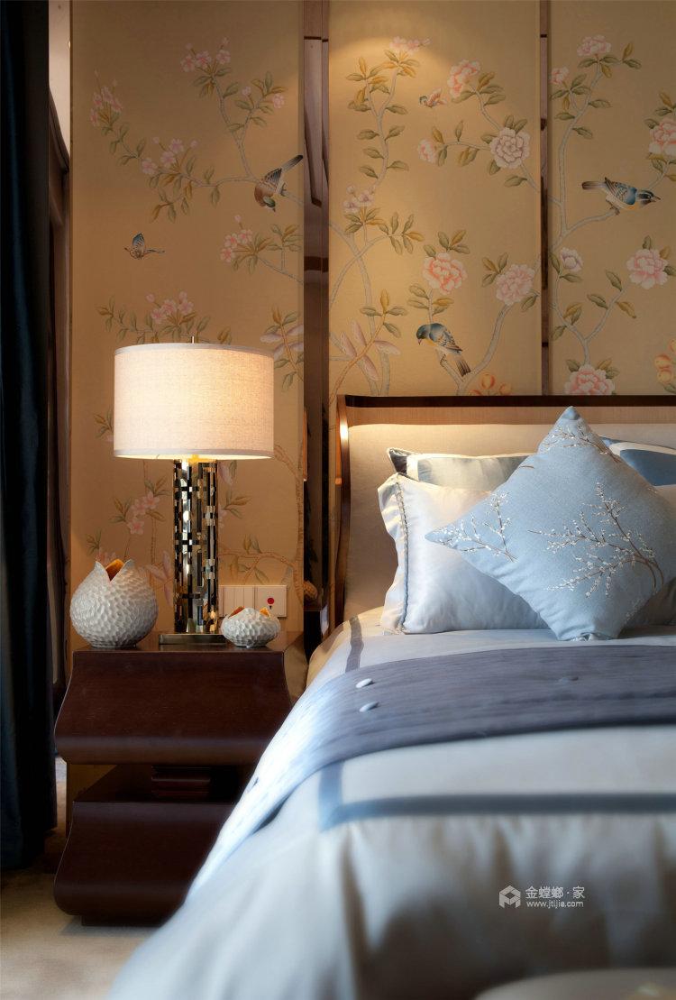 抛弃繁复,不能在简约的简约中式-卧室效果图及设计说明