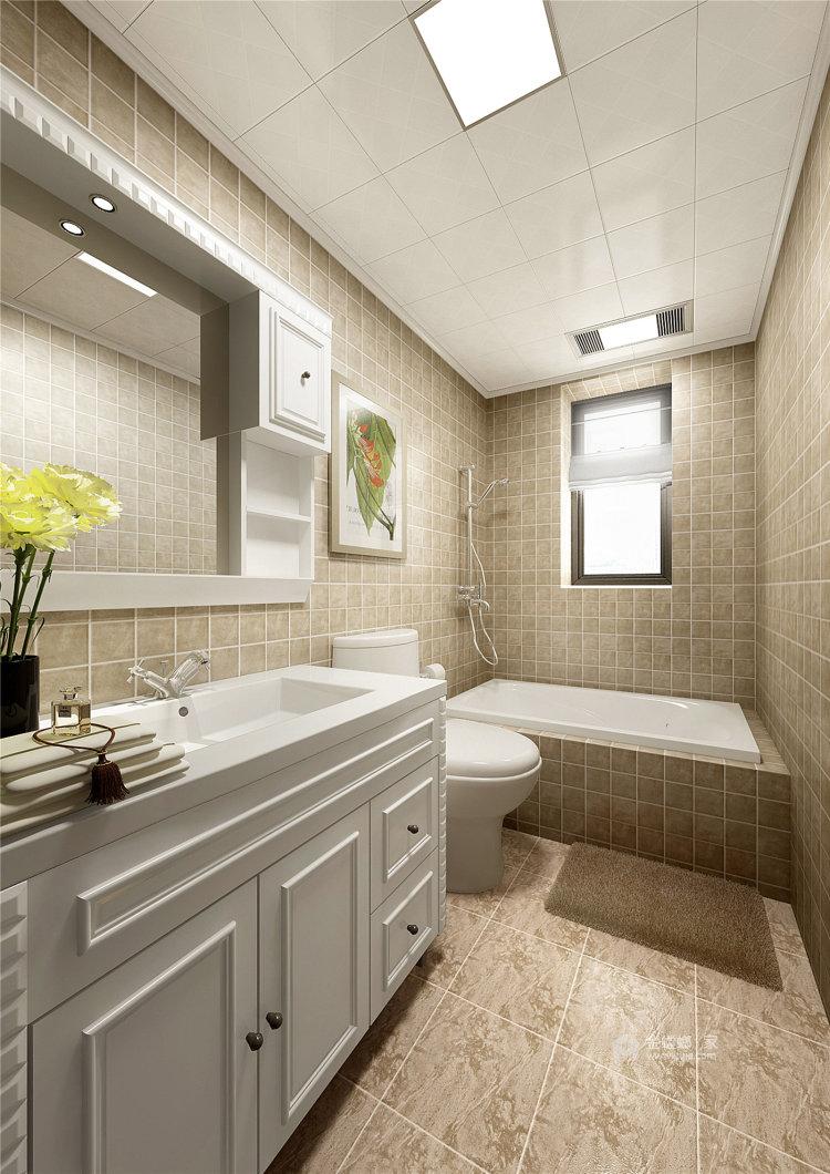 象牙白的欧式,让家充满高级感-卫生间