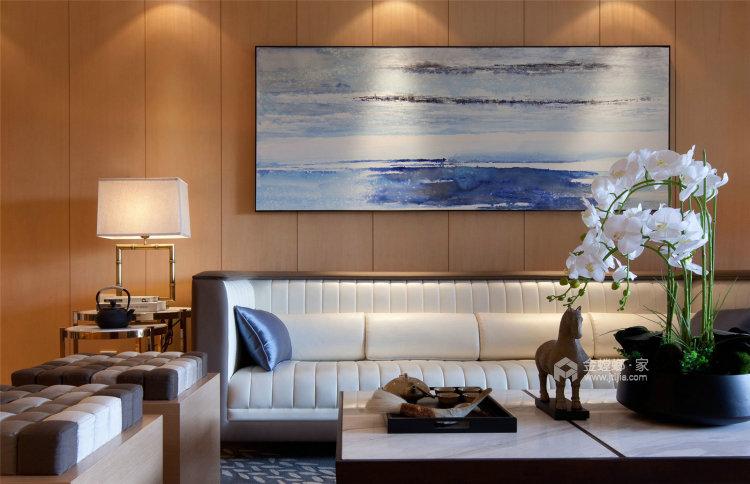 抛弃繁复,不能在简约的简约中式-客厅效果图及设计说明