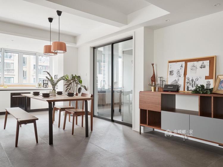 极简通透,生活定义空间-餐厅效果图及设计说明