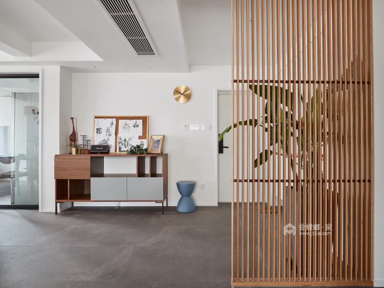 极简通透,生活定义空间-客厅效果图及设计说明