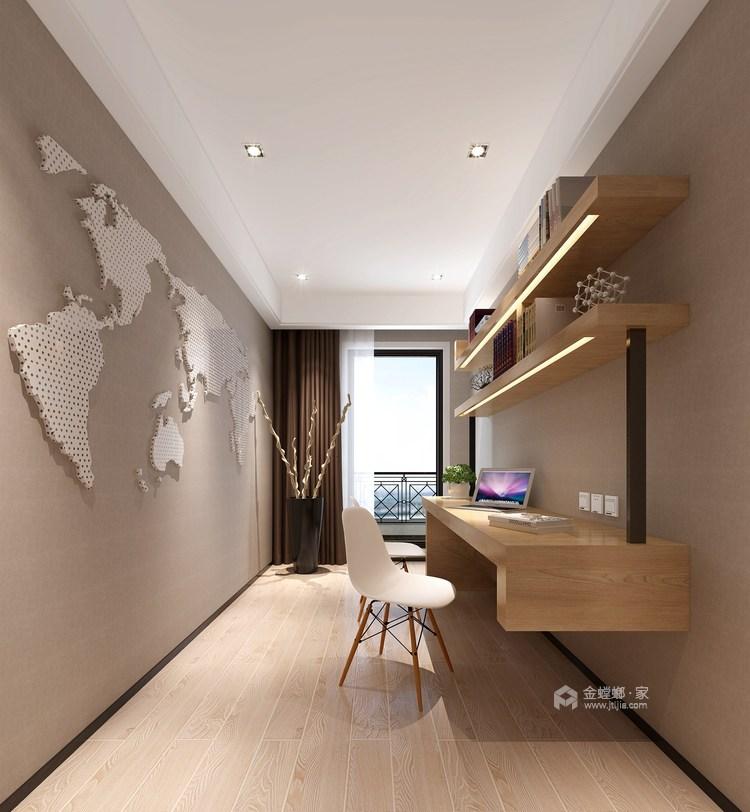 整洁现代风的家,每个人都适用-书房