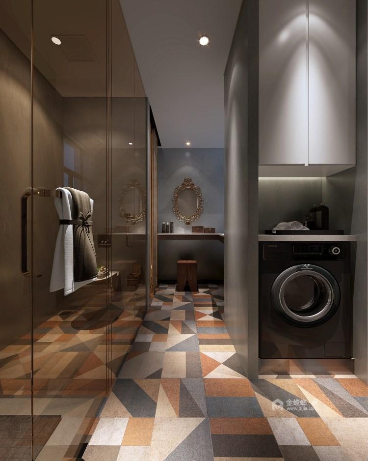 整洁现代风的家,每个人都适用-卫生间