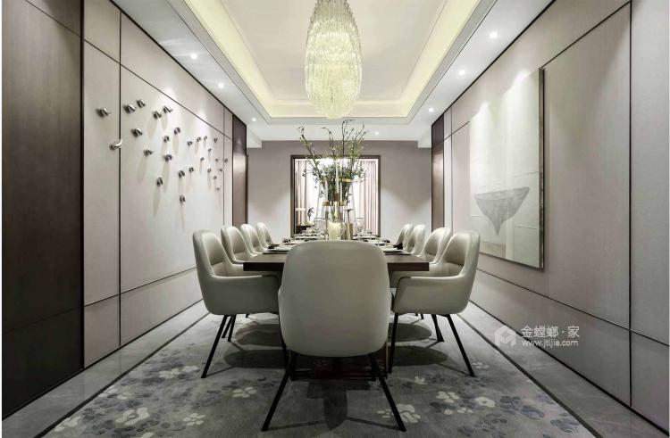 一个元气满满的欧式风格的家-餐厅效果图及设计说明