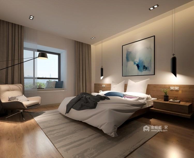 整洁现代风的家,每个人都适用-卧室效果图及设计说明