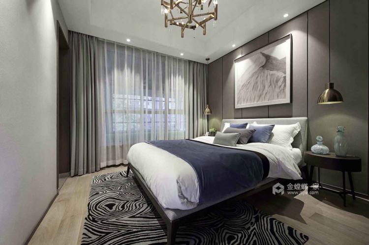 一个元气满满的欧式风格的家-卧室