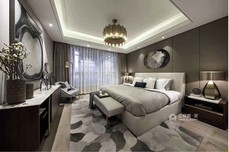一个元气满满的欧式风格的家-卧室效果图及设计说明