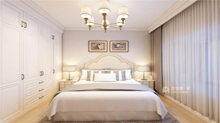 拒绝繁杂,最爱精致实用的简约欧式-卧室效果图及设计说明