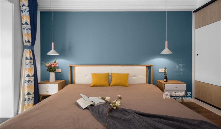 看尽繁华,就喜欢这样简约的北欧风-卧室效果图及设计说明